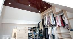 wir versch nern ihre alte holzdecke mit einer spanndecke raumausstattung vowinkel. Black Bedroom Furniture Sets. Home Design Ideas